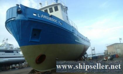"""LANGUEDOC 7"" TUG BOAT FOR SALE"