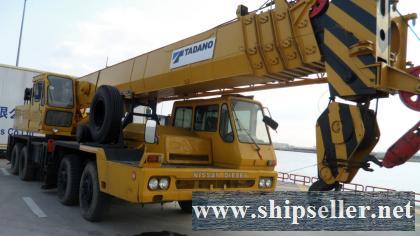 used tadano crane used kato crane cheap Sudan Swaziland São Tomé and Príncipe Tanzania Togo Tunis