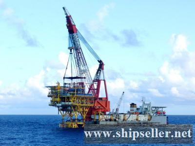 3600T CRANE BARGE 3600 TON FLOATING CRANE BARGE SALE RENT CHARTER SELL
