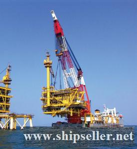 5000T CRANE BARGE 5000 TON FLOATING CRANE BARGE SALE RENT CHARTER SELL