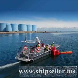 Stanley Spill Response Vessel, All-Aluminum