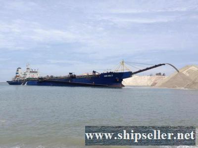 sell sand carrier dredger malaysia indonesia china Philippines sand dredger trailing suction hopper