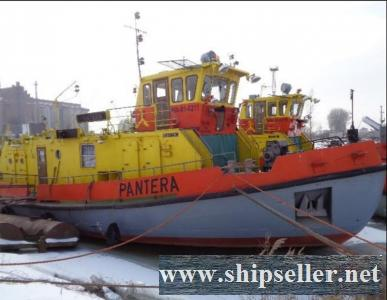 33m Icebreaker ships with tug and pusher
