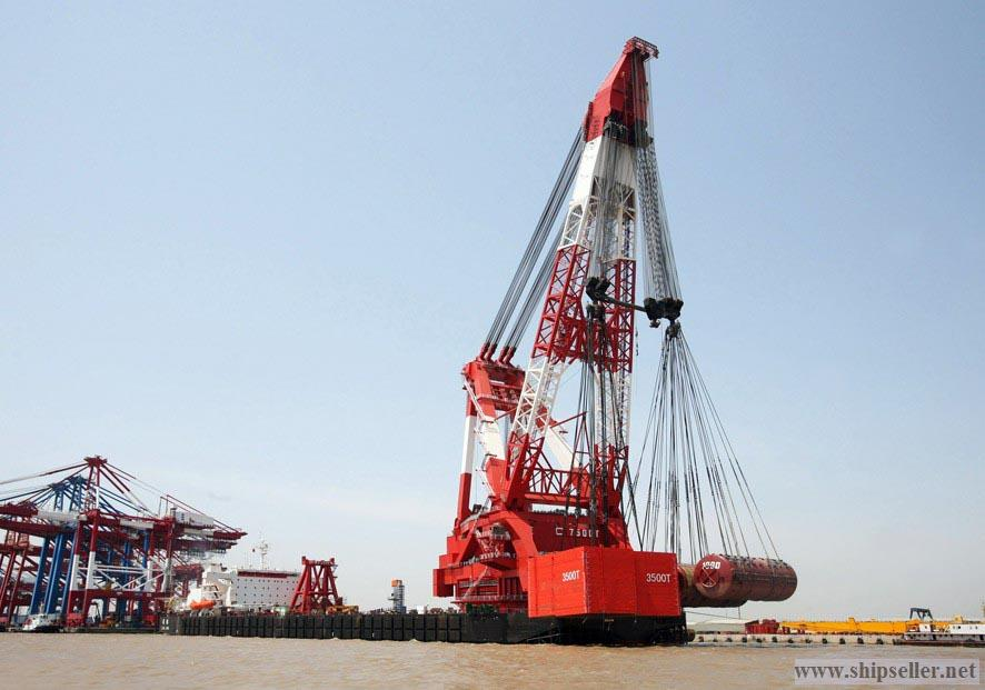 Floating Dock And Crane For Sale
