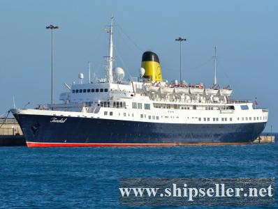 CRUISE SHIP FOR SALE BLT 1961 REBLT/REFURBİSHED 1985/2013 244 CABINS PAX CAP 605