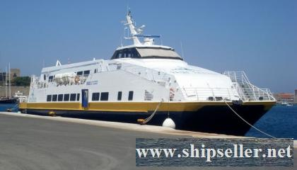 Catamaran Passenger Ferry Forsale in Turkey