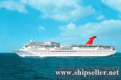 CRUISE SHIP FOR SALE 1990 BLT 700 CABINS PAX CAP 2052