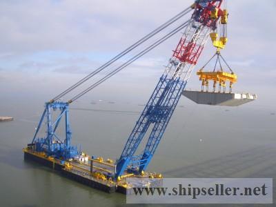 Floating Sheerleg For Sale