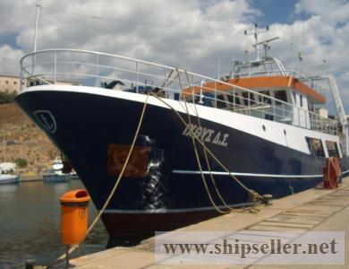 FISHING VESSEL-GREECE- HIS Class, 28.50m x 7.30m x 2.17m,