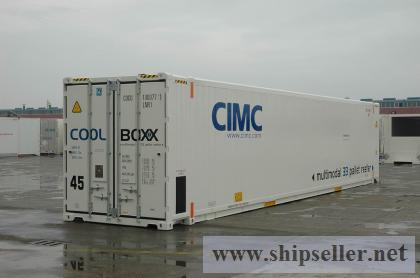 45ft European pallet wide reefer container