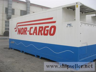 25ft Dual Temperature Reefer SwapBody Container