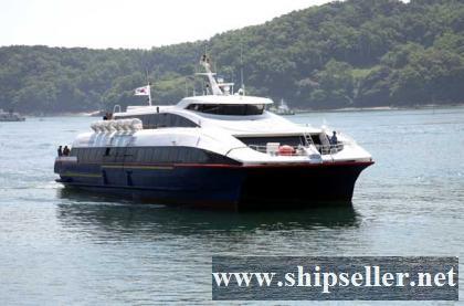 304PAX CATAMARAN PASSENGER SHIP FOR SALE(SDM-PS-117)