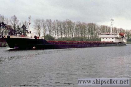 104. Dry cargo vessel VOLGA type, project 16910, 1989 y.