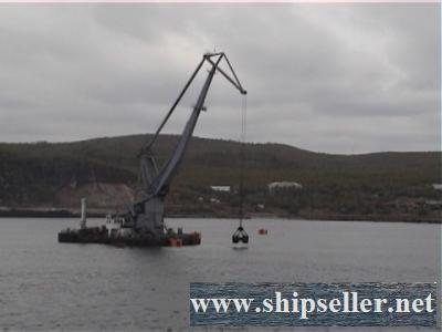 270 . Self-propelled floating crane