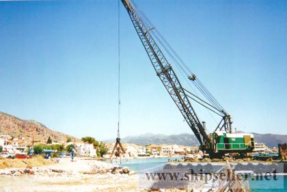 FLOATING CRANE 100 ts FOR SALE