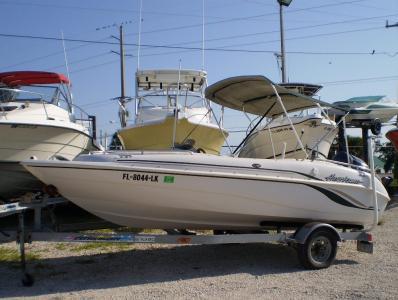 2001 Hurricane GC 17 w/ Yamaha 115 HP