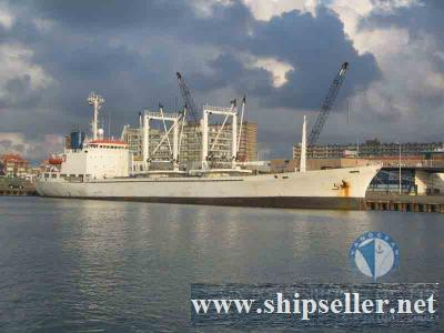 REEFER  1980-4  BUILT  JAPAN  DWT 4337MT  CAPACITY 175507(CBFT) USD 2.0 MIL