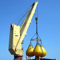 Sell used DECK CRANE ship crane derrick crane