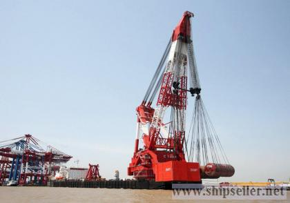 floating crane 100t to 5000t crane barge 100 ton to 5000 ton