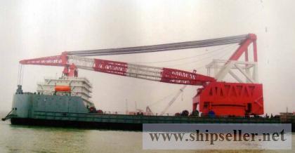 3000t Floating Crane charter rent 3000 ton crane barge
