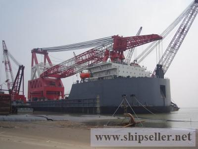 3200t Floating Crane charter rent 3200 ton crane barge