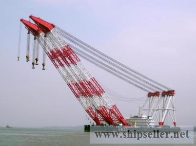 floating crane barge 100t to 5000t sale sell buy rent