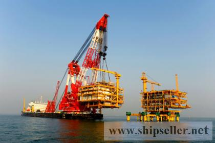 floating crane barge 100t-5000t hire rent sale buy