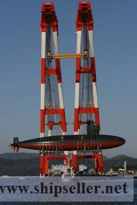 offshore crane barge for sale rent charter floating crane vessel
