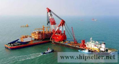 offshore crane barge floating crane 2000t 2500t 2600t 2800t
