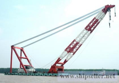 offshore crane barge floating crane 1000t 1500t 1600t 1800t