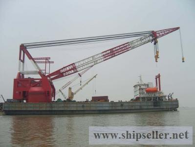 offshore crane barge floating crane 400t 500t 600t 700t 800t