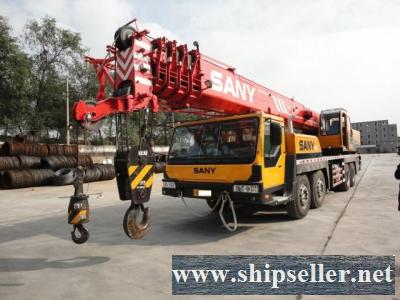 cheap SANY crane truck crane mobile crane 50t 80t 60t 65t 70t 25t 20t 40t 100t 120t 150t 200t USED CRANE