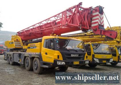 used crane sany mobile crane Angola,Afghanistan,Albania,Algeria,Andorra mobile crane truck crane sale buy