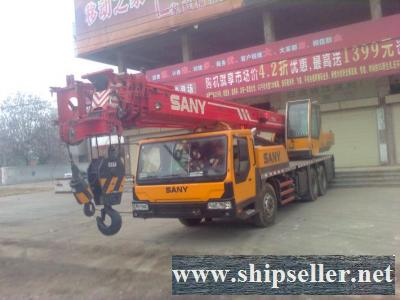 sell used sany mobile crane truck crane 20t 25t 30t 35t 40t 50t 60t 70t 75t 80t 100t 120t 150t 200t 300t 400t 500t 25 ton 50 ton 80 ton 100 ton