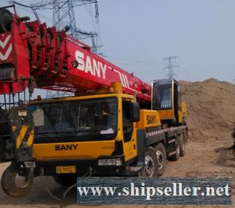 sell used sany mobile crane truck crane 25 ton 50 ton 80 ton 75 ton 100 ton 120 ton 150 ton 200 ton 300 ton 500 ton