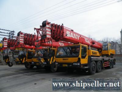 used sany crane QY25C,QY20C,QY50C,QY75C,QY100,STC250H,QY130,STC75,STC250,STC500,STC500E,STC750,STC750,mobile crane truck crane buy sell sale