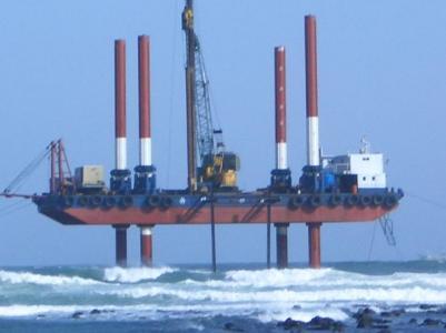 Cheap sell used Jack-up barge used jack up barge
