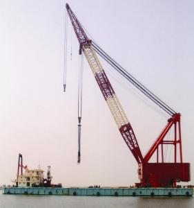 cheap Sell Floating crane 1000ton Full revolving