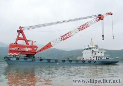 300t floating crane Price: USD$2.7Million