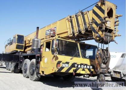 Sell used tadano crane 75 ton 80 ton 75t 80t 70t 25t 100t 20t 120t 150t 150 ton 50 ton 50T 45 TON 45