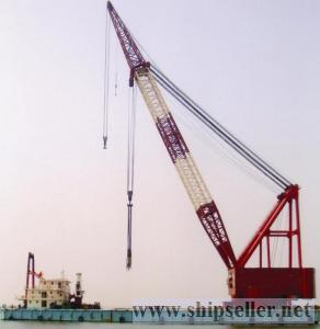 sell floating crane 100t to 5000t (cheap)