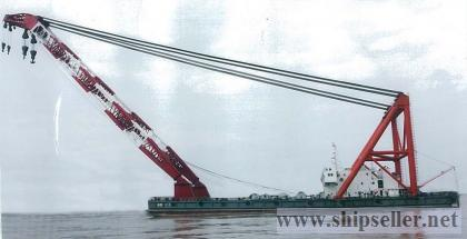 cheap new 1200t floating crane 1200 ton newly-built
