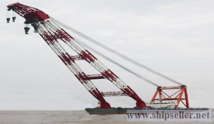 new 1200t floating crane cheap sell