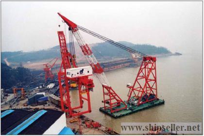 floating crane 700t 800t 900t crane barge