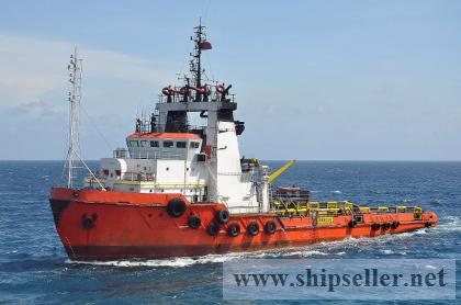 FOR SALE AHTS 13,000bhp, 146 MT bollard pull, 32 years