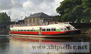* Hotel cruise vessel untuk 12 penumpang Westmeath, Irland.