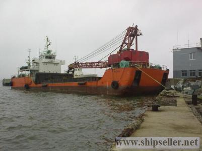 Crane ship year 1988 Gross Tonnage: 928mt