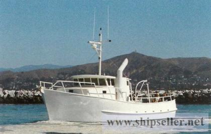 48' LRC Trawler/Tug
