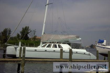 60' Catamaran Custom Commercial Term Charter 1999