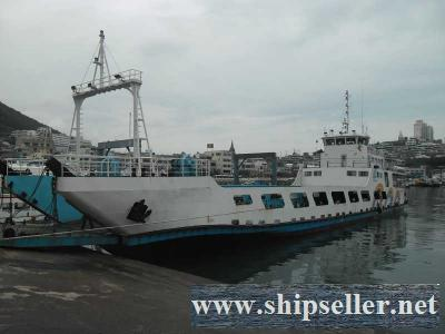 240PAX, LCT TYPE ROPAX FOR SALE(SDM-CF-123)